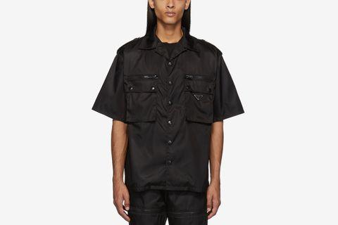 Gabardine Pocket Shirt
