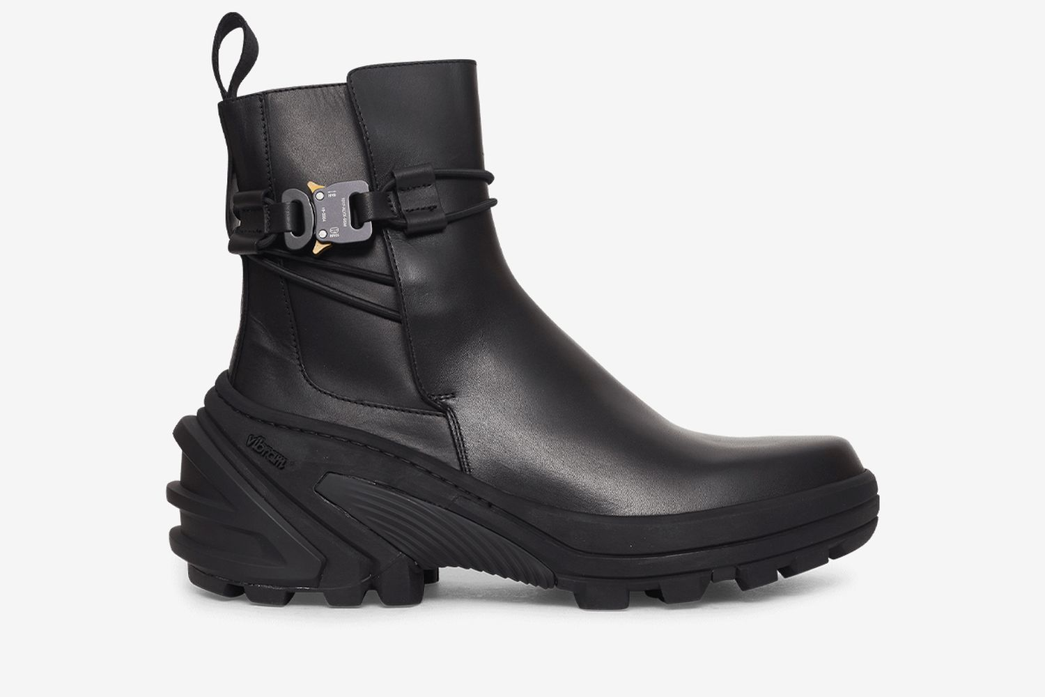 Fixed Sole Buckle Boots