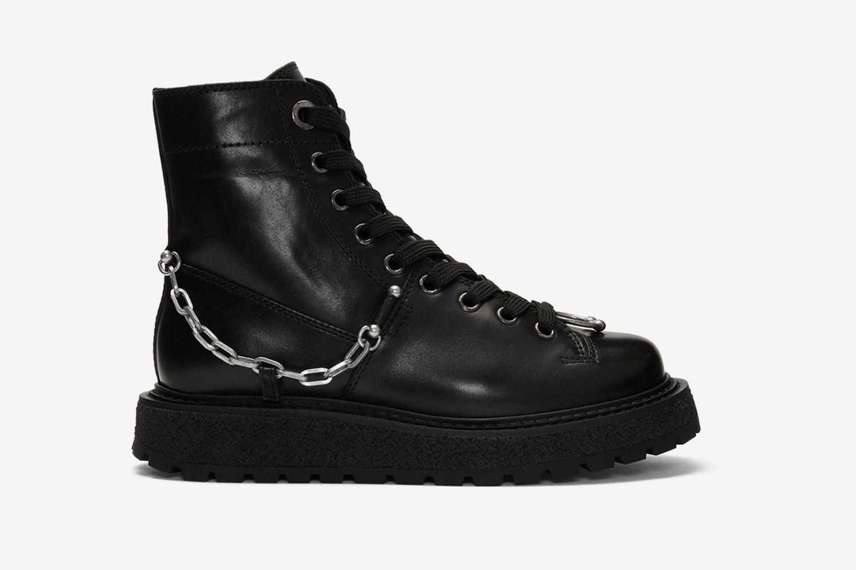 Punk Chain Gorilla Boots