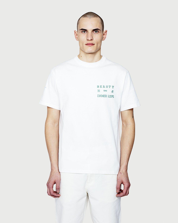 Highsnobiety — Inner Life The Beauty T-Shirt White - Image 2