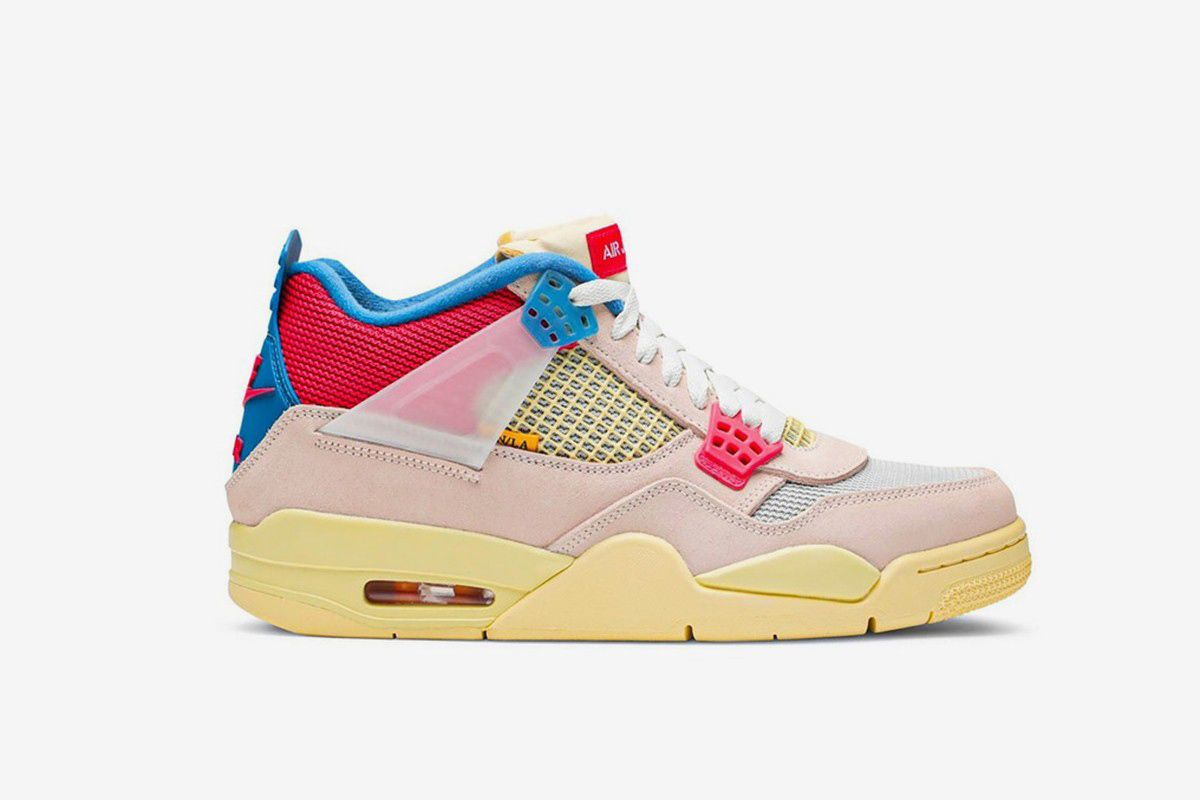 "Where to Buy the Union x Nike Air Jordan 4 ""Guava"" Early 3"