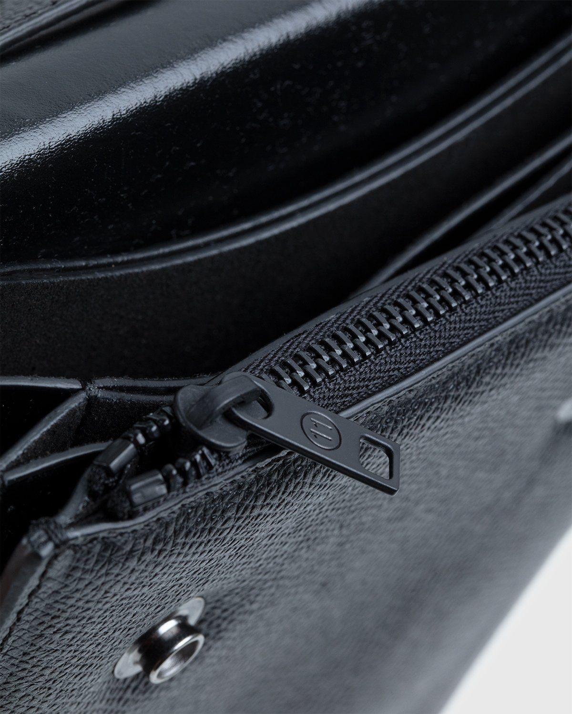 Maison Margiela – Small Leather Chest Pack Black - Image 5
