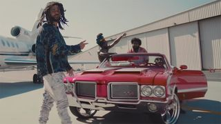 "J.I.D Bas J. Cole EarthGang Young Nudy ""Down Bad"" video"