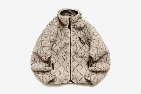 Do-Gi Sashiko Boa Fleece Reversible Jacket