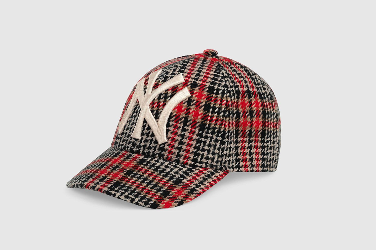 Baseball Hat With NY Yankee Patch