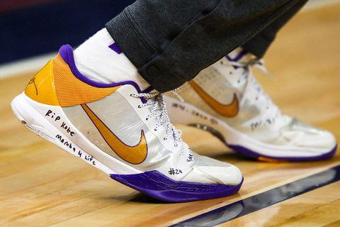1 sneaker. 2 legends. Kobe Bryant teamed up with Tinker
