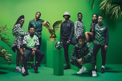 nike nigerian football kit 2018 restock 2018 FIFA World Cup nigeria football kit