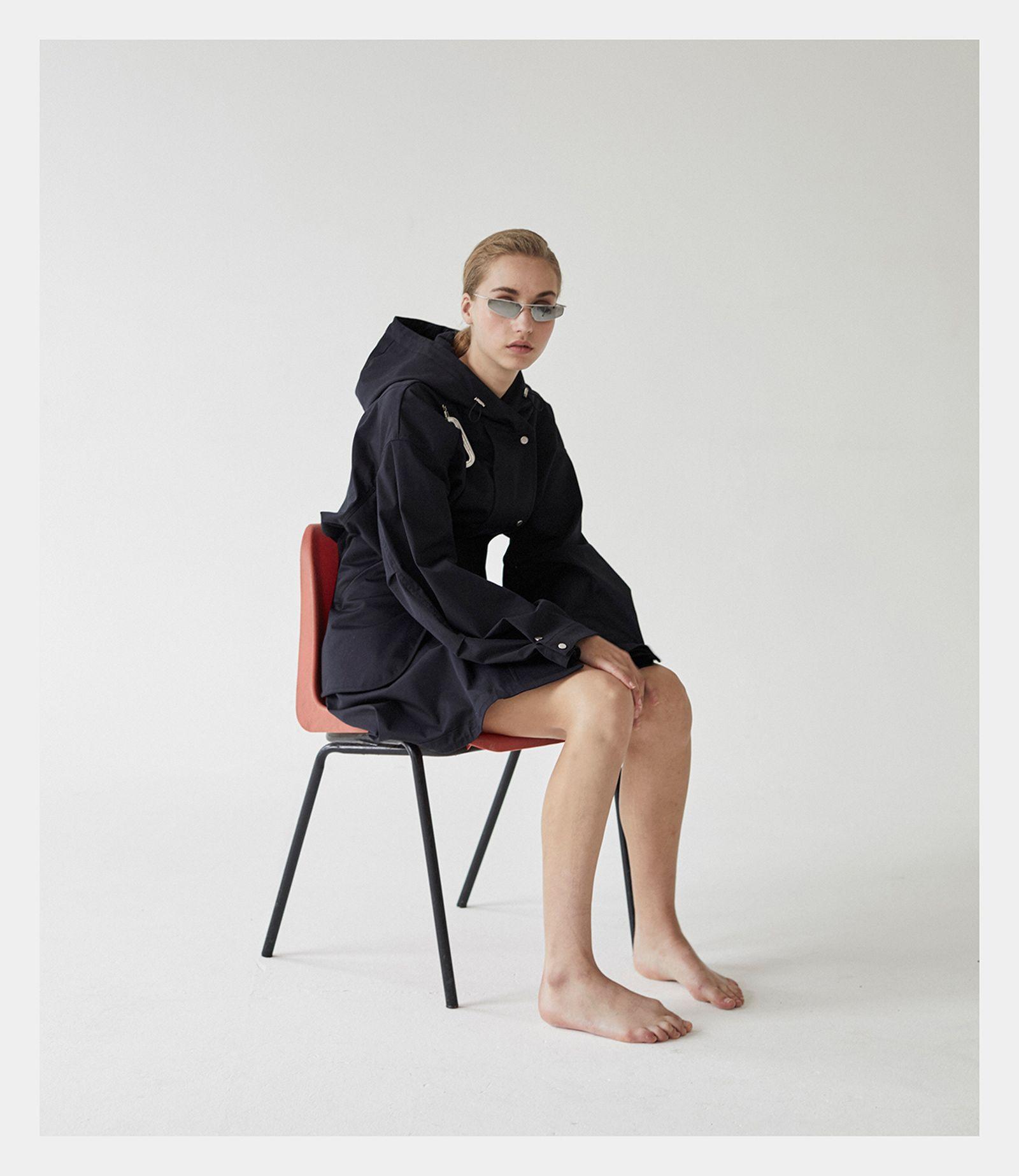 Dress: 1017 ALYX 9SM. Sunglasses: ACE + TATE.