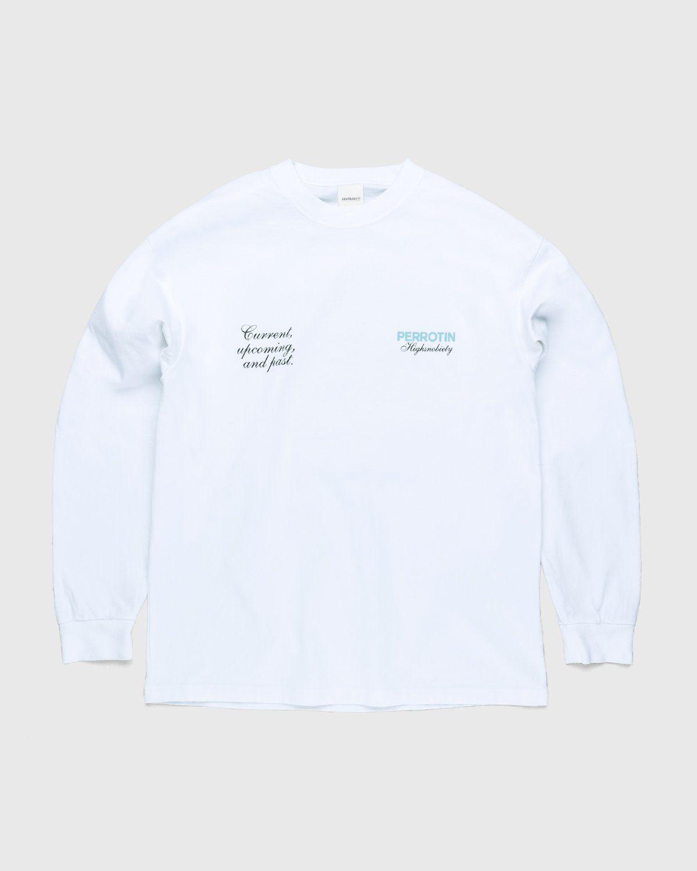 Highsnobiety — Not In Paris 3 x Galerie Perrotin Longsleeve White - Image 1