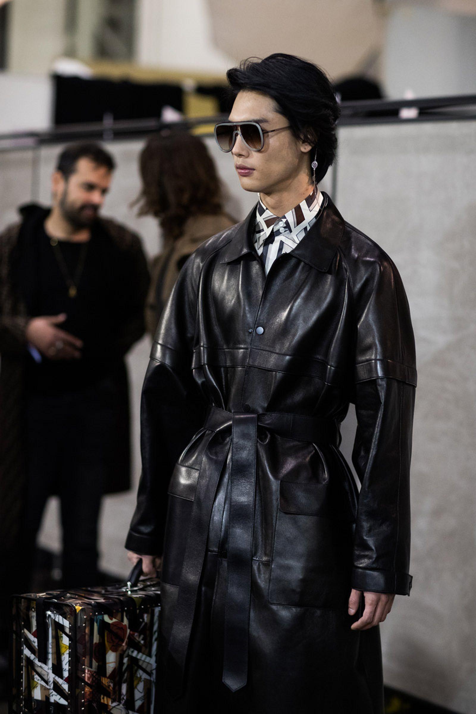 MFW19 Milan Fendi EvaAlDesnudo 08 milan fashion week runway
