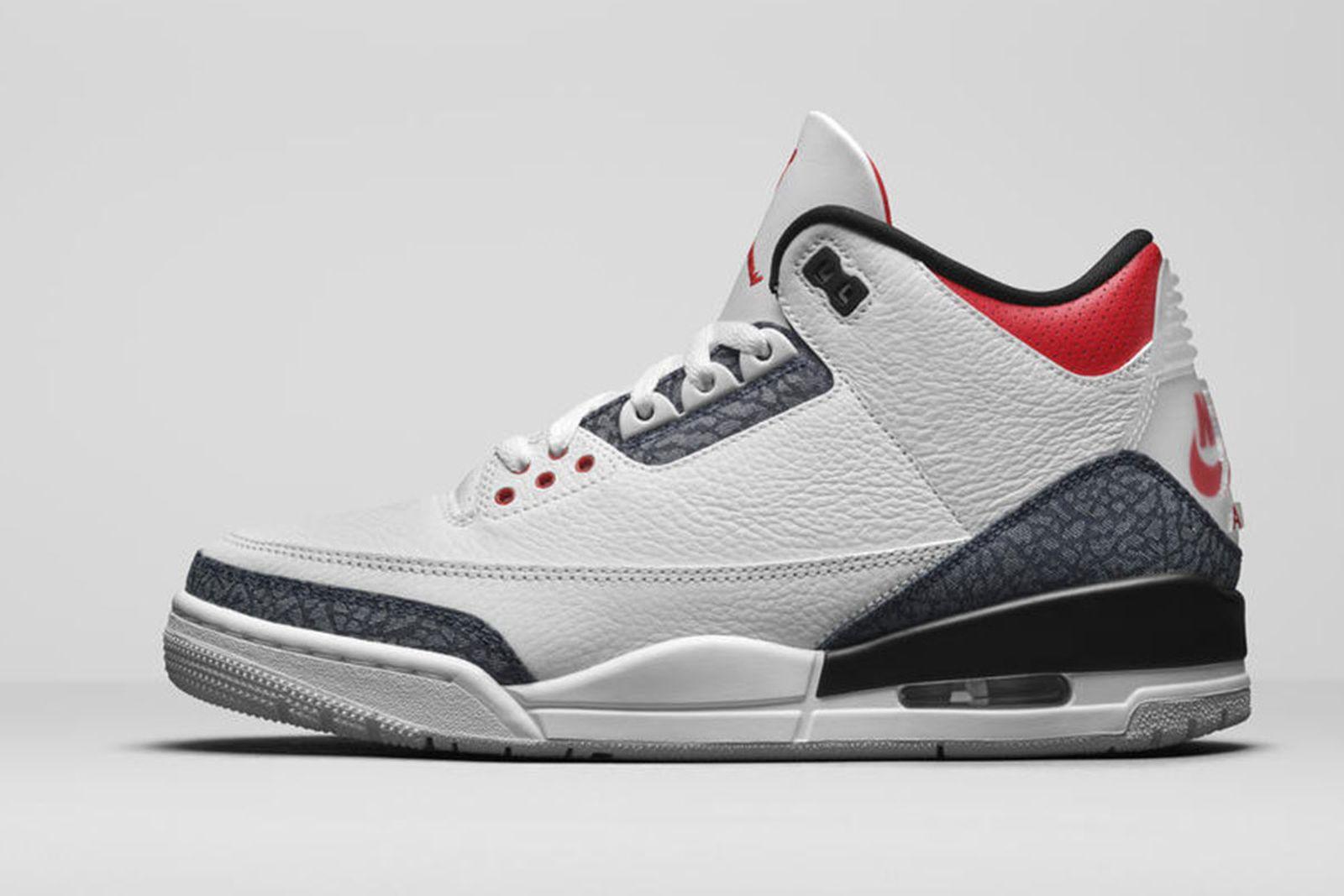 Jordan Brand Fall 2020 sneaker lineup Air Jordan 3 red denim