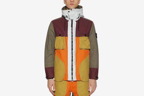 Coated Cotton Field Jacket
