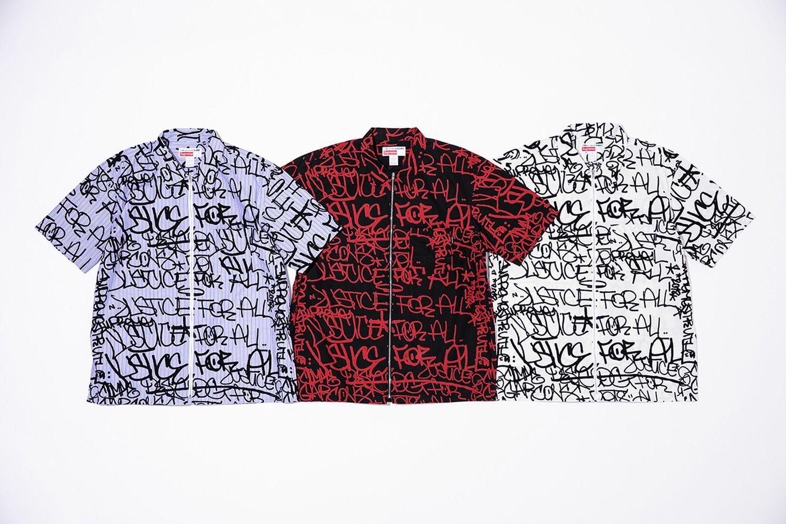 cdg supreme history 2018 comme des garcon shirt comme des garcons