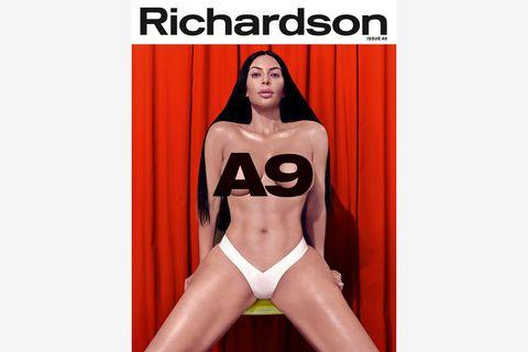 kim kardashian richardson a9 cover story