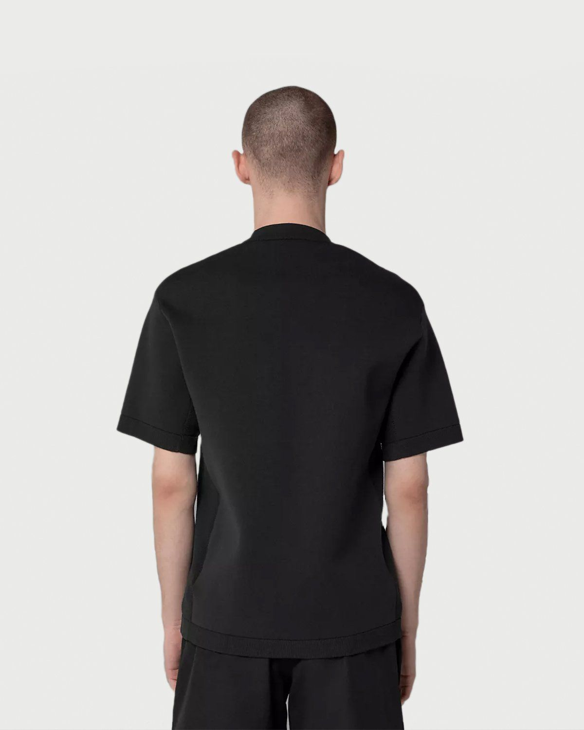 The North Face Black Series - Engineered Knit T-Shirt Black - Image 3