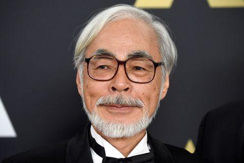 Hayao Miyazaki tuxedo Oscars