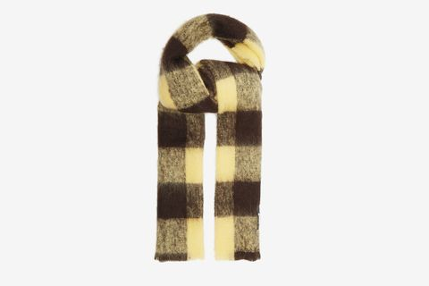 Blanket Check Scarf