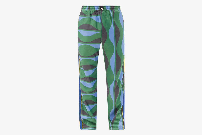 Joy Wave-Print Track Pants