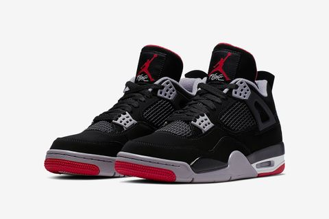 "596ca823 The 2019 Version of Tinker Hatfield's Iconic Air Jordan 4 ""Bred"" Can Now Be  Copped at StockX"