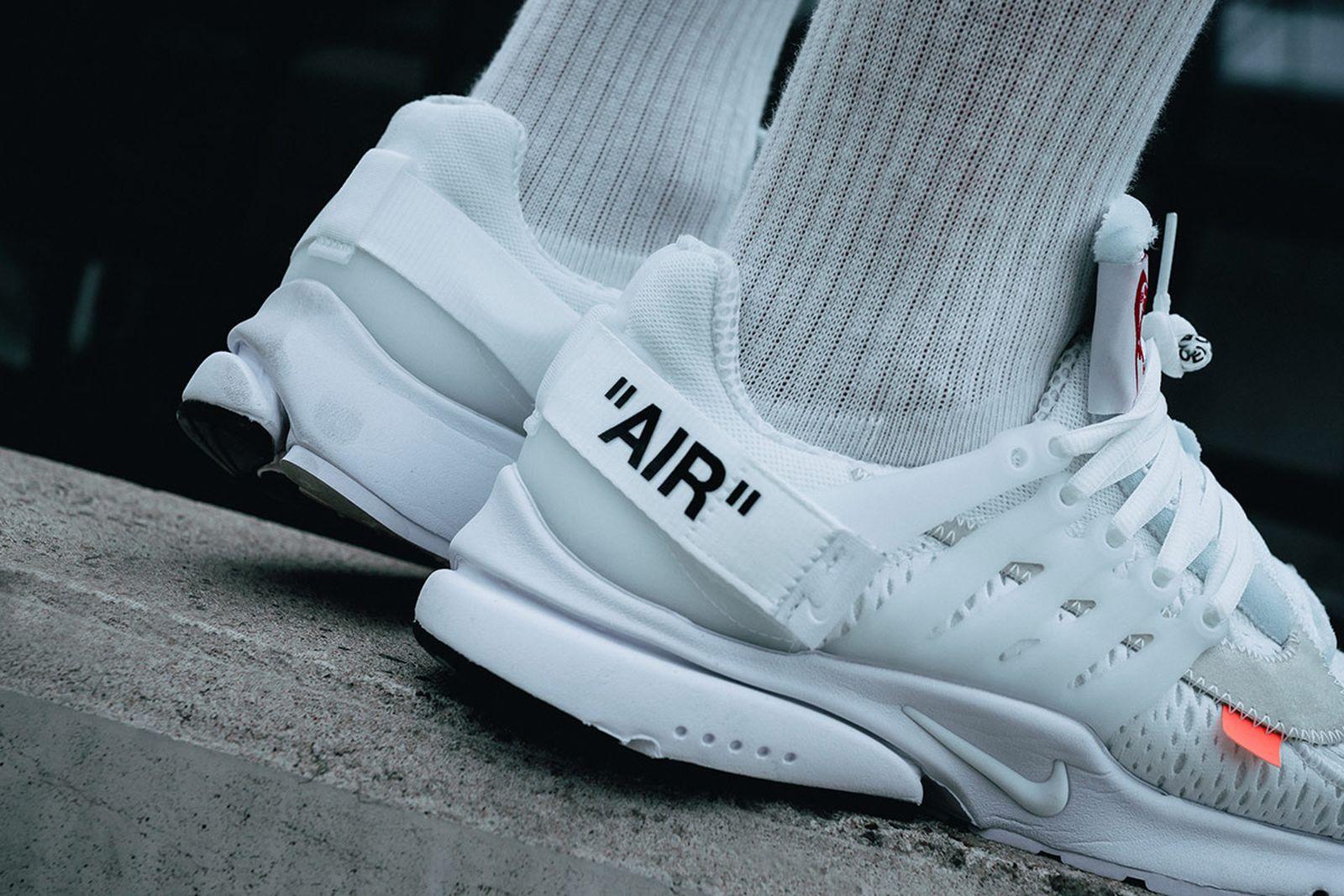 Descarga Sano precedente  Virgil Abloh x Nike Air Presto White: Buy it Here Today