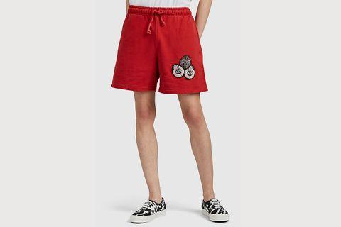 Regal Motif Shorts