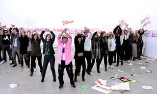 Video: Anish Kapoor & Friends – 'Gangnam for Freedom' Tribute