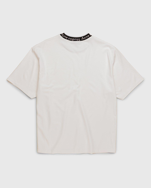 Acne Studios – Logo T-Shirt White - Image 2