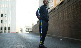 Sean Lyles Wears New adidas Threads and the Latest Tubulars in LA Shoot