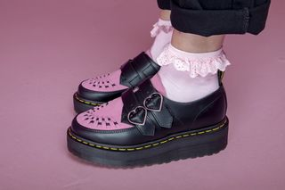 Dr. Martens collaborates with Lazy Oaf to create vegan