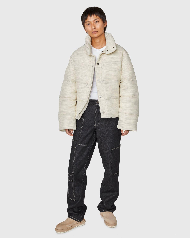 JACQUEMUS — La Doudoune Jacket Beige - Image 6