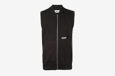 Logo Zipped Vest
