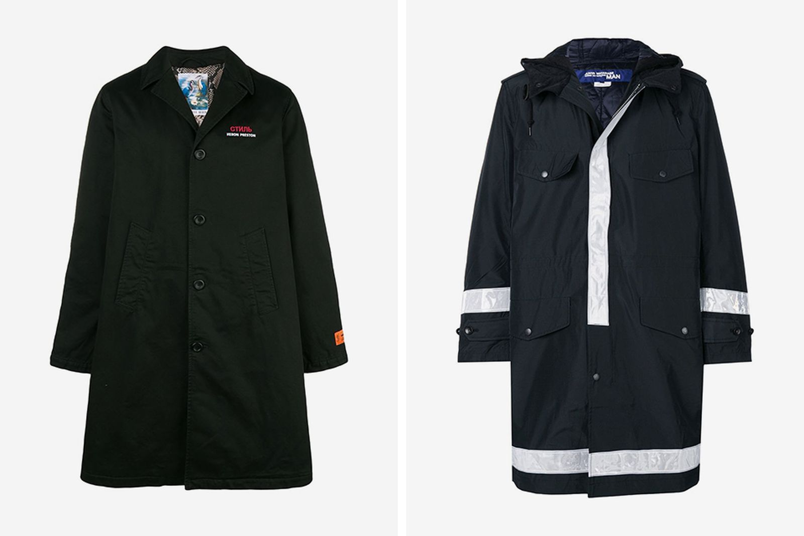 winter jackets sale Damir Doma x Lotto Heron Preston MISBHV