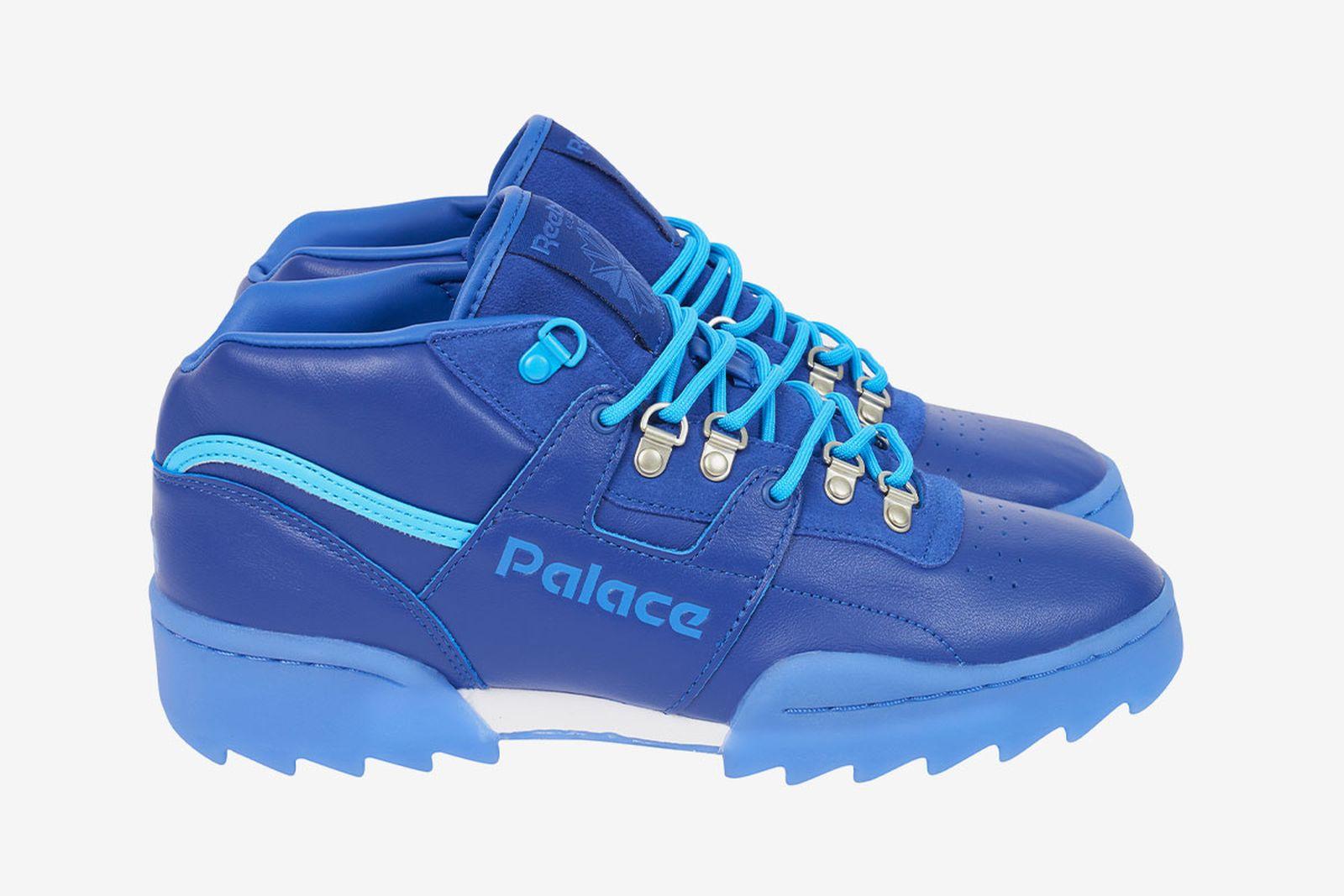 Palace x Reebok OG Workout Ripple blue