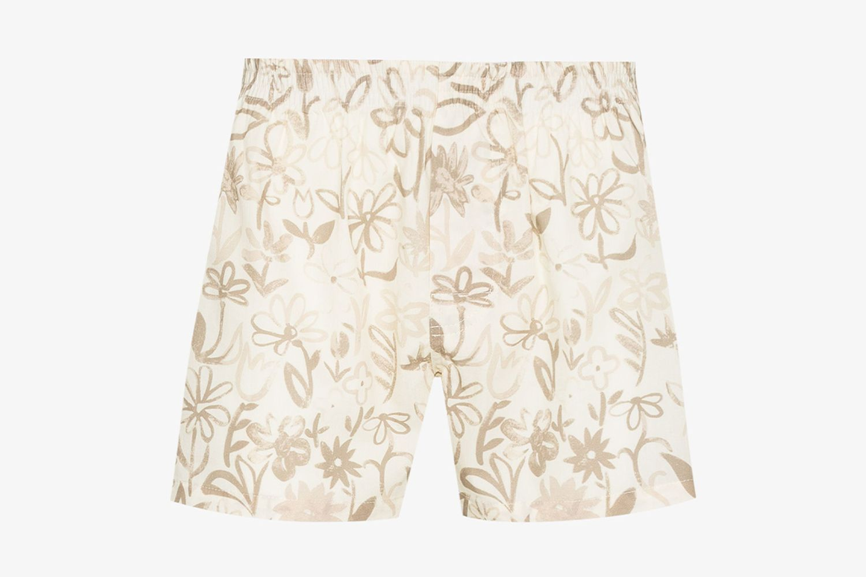Le Caleçon Floral Print Boxer Shorts