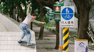 levis skateboarding drip through stone taipei