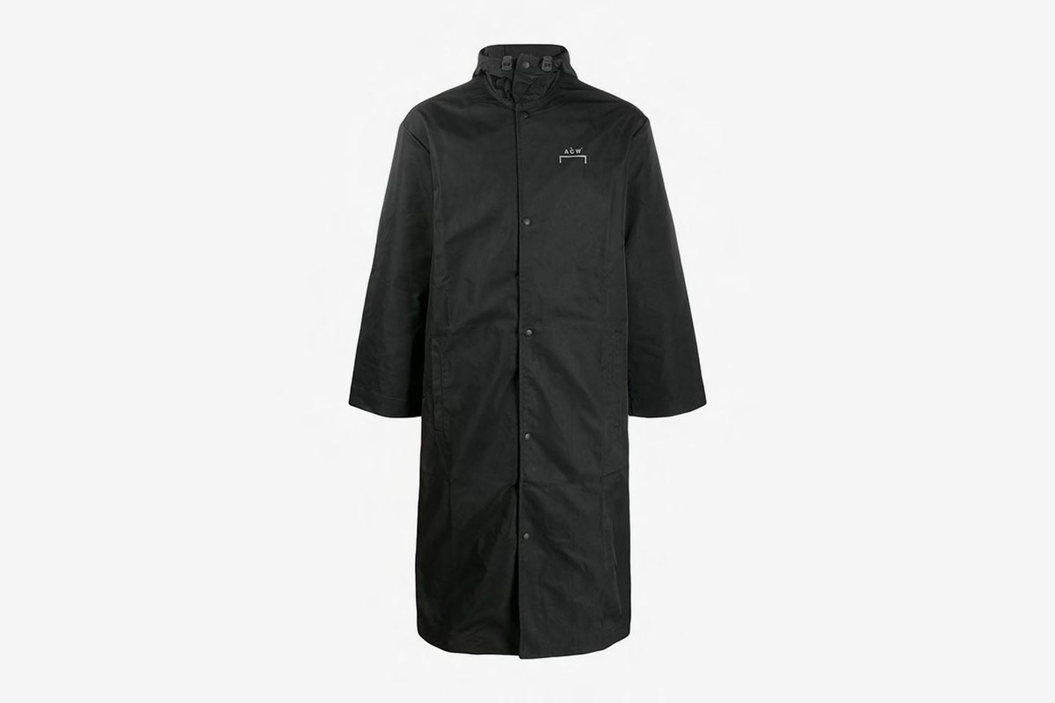 Logo Hooded Raincoat