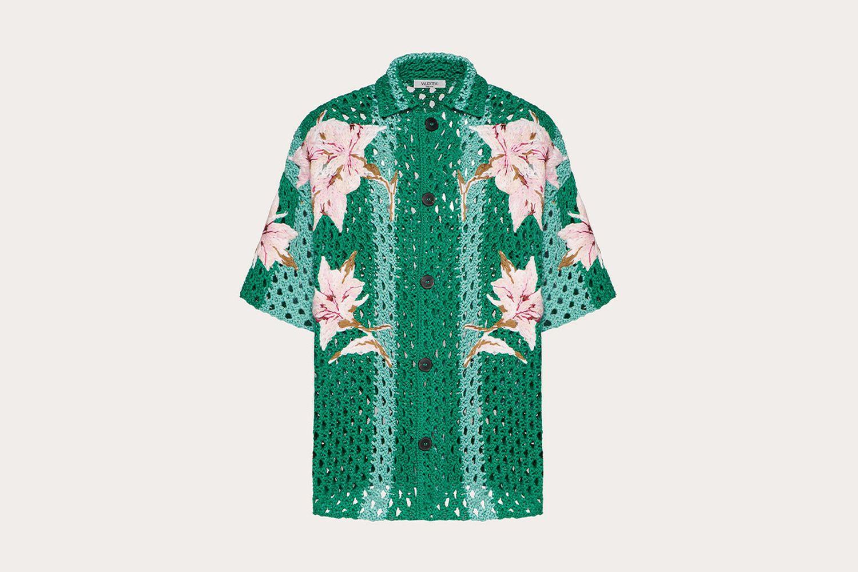 Crochet Bowling Shirt