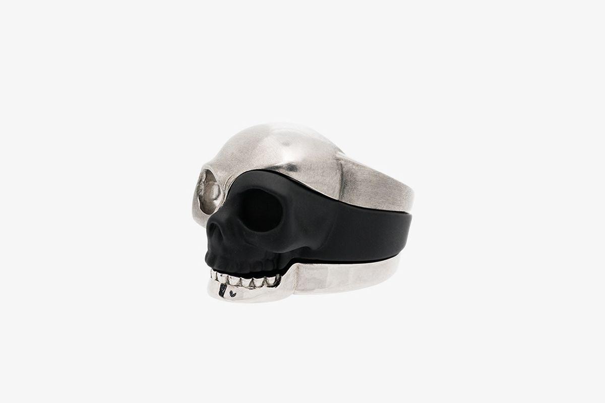 Three-Piece Skull Ring