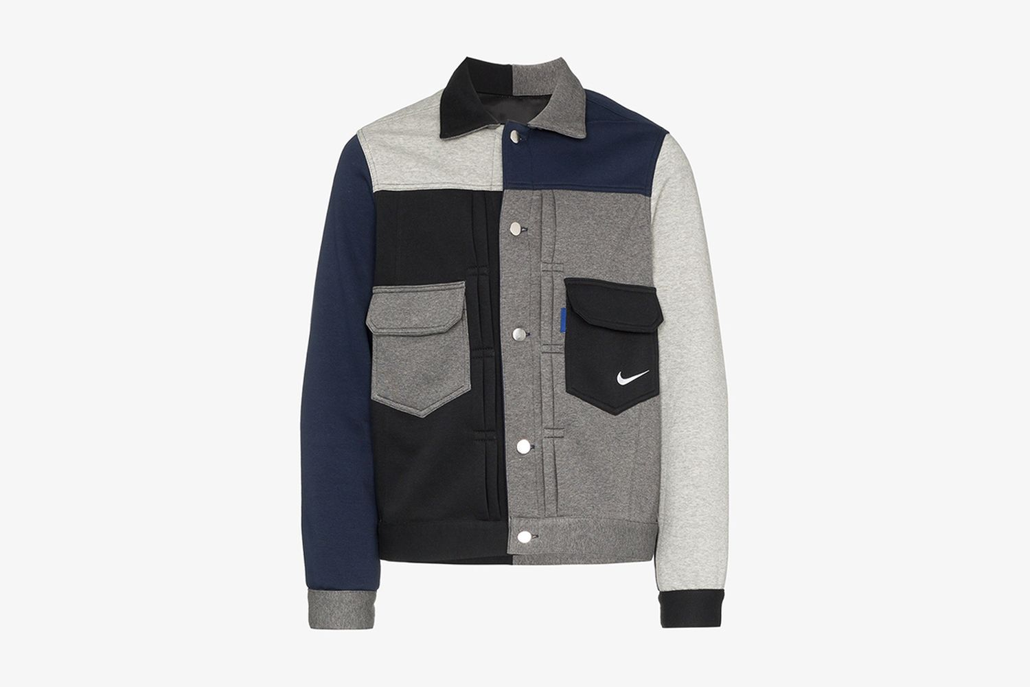 Nike Deconstructed Western Patchwork Jacket