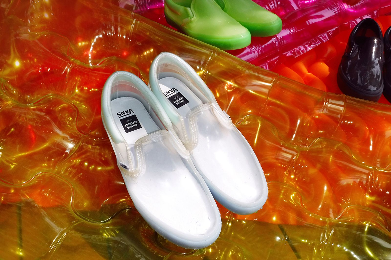 opening ceremony vans transparent pack release date price vans slip-on