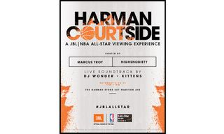 "JBL presents ""Harman Courtside"" NBA All-Star Viewing Experience"