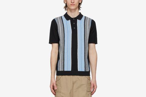 Knit Stripe Polo