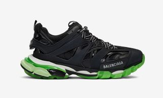 Balenciaga Drops the Track Trainer With Neon Green Accents