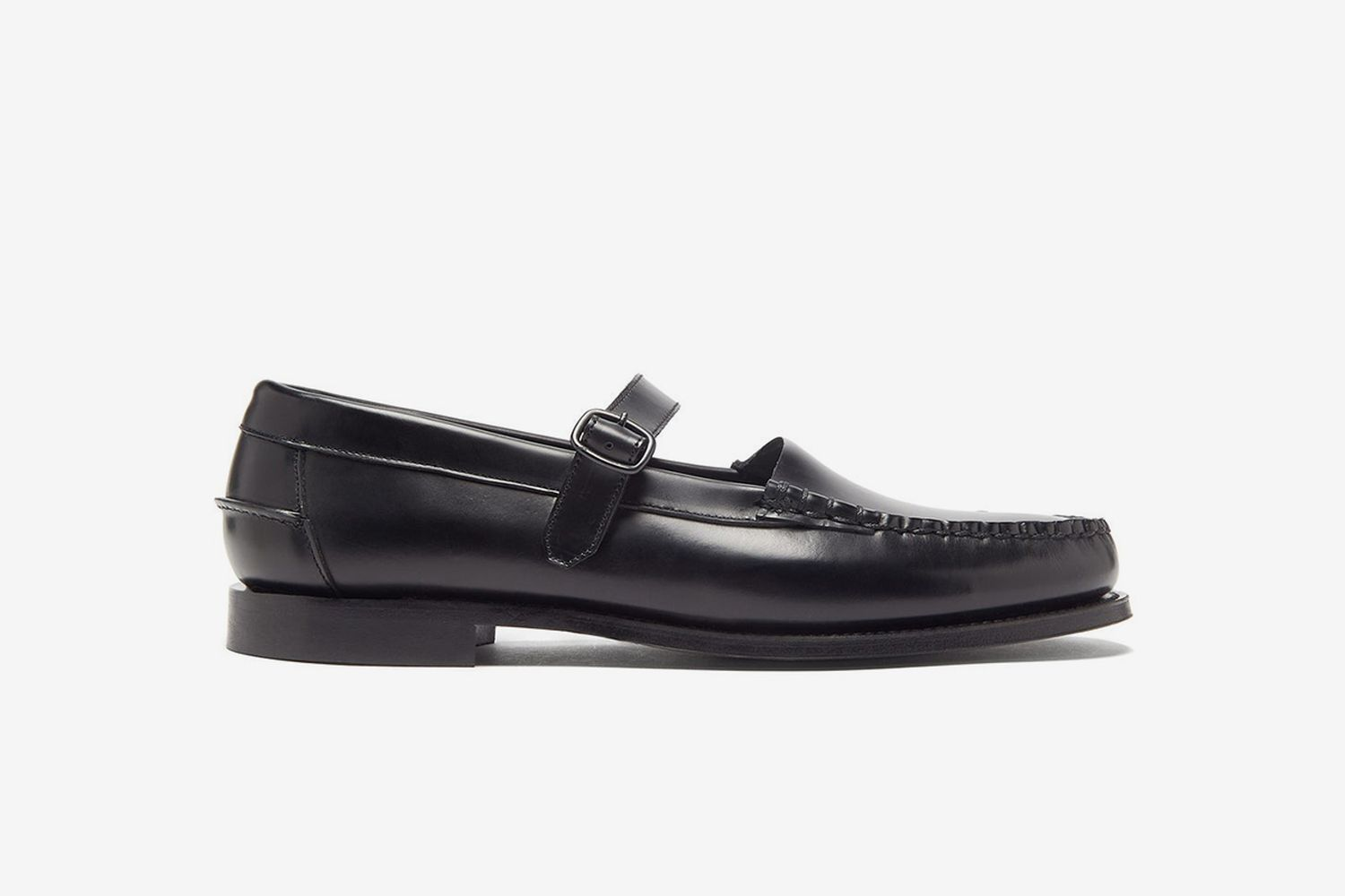 Blanquer Mary-Jane Leather Loafers