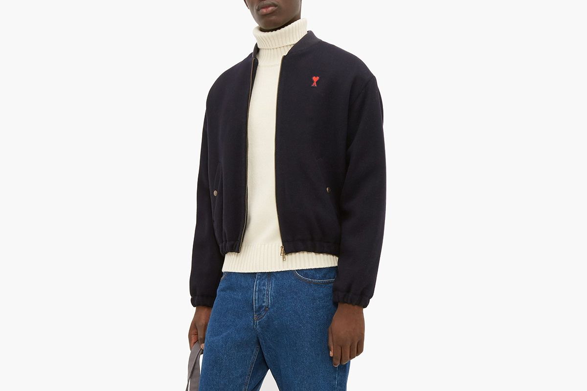 Mick High Neck Wool Sweater