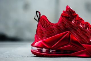 """huge discount e8060 cce21 Nike LeBron 12 Low Premium """"University Red"""""""