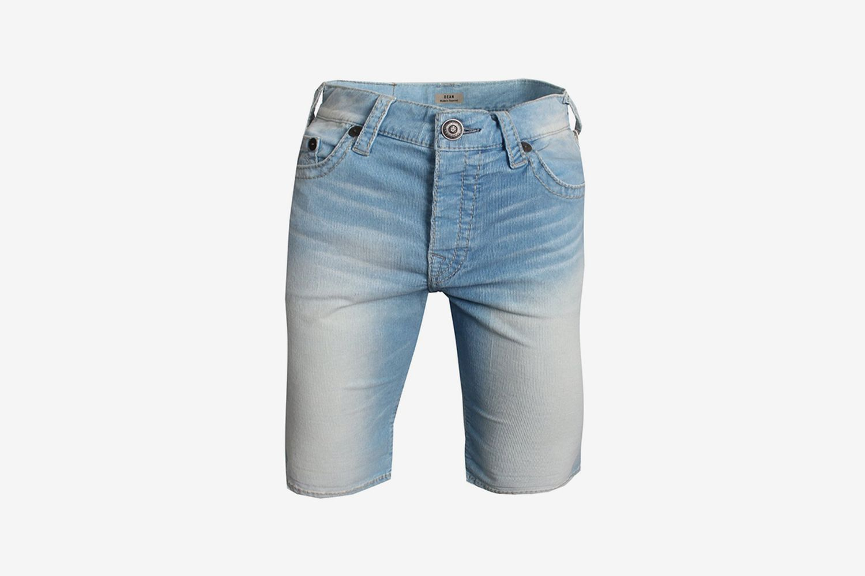 Indigo Corduroy Shorts