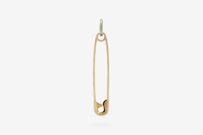 Pin Metal Single Earring