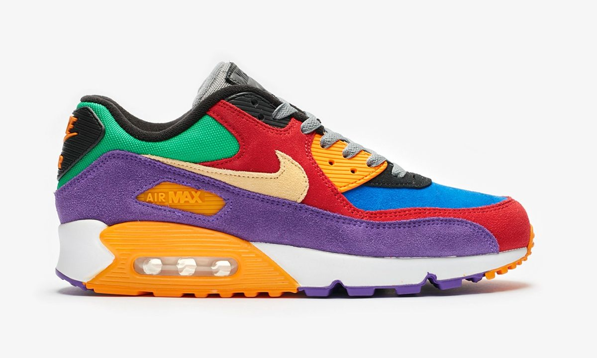 Nike Brings 2002's Viotech SB Dunk Colorway Back on the Air Max 90