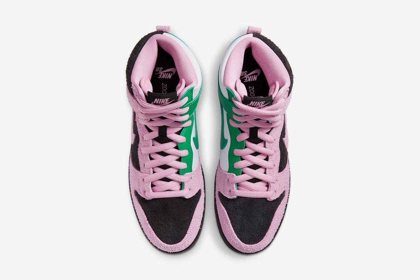 "Nike SB Dunk High ""Invert Celtics"""